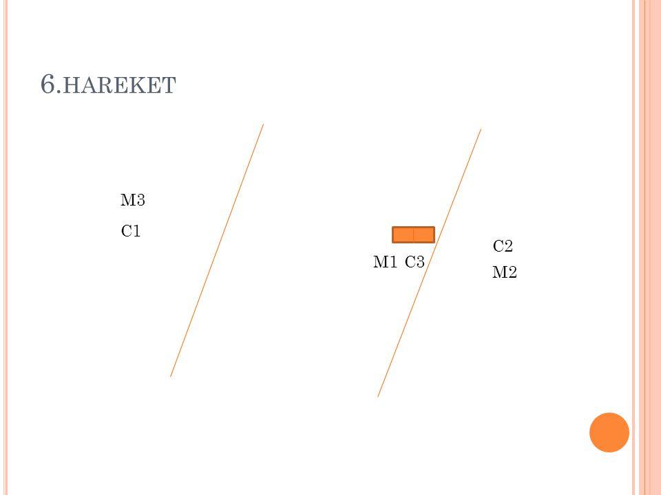6.hareket M3 C1 C2 M1 C3 M2