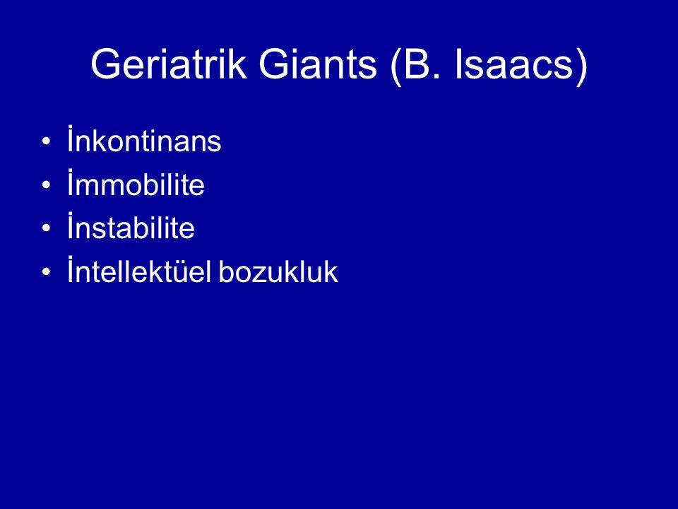 Geriatrik Giants (B. Isaacs)