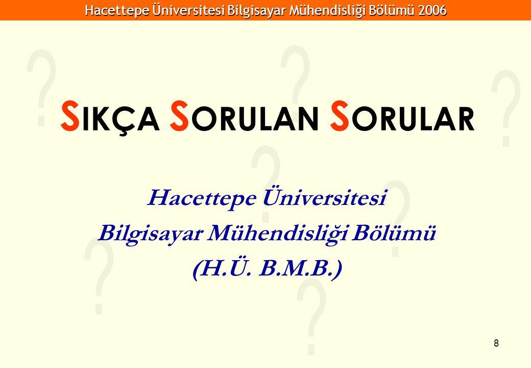 Hacettepe Üniversitesi Bilgisayar Mühendisliği Bölümü (H.Ü. B.M.B.)