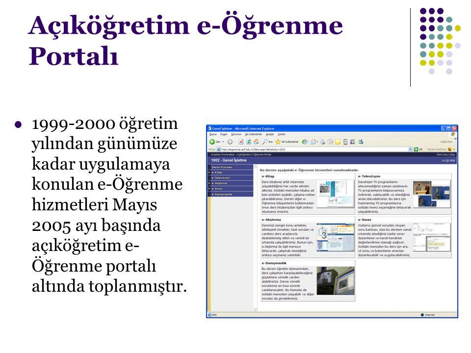 Açıköğretim e-Öğrenme Portalı