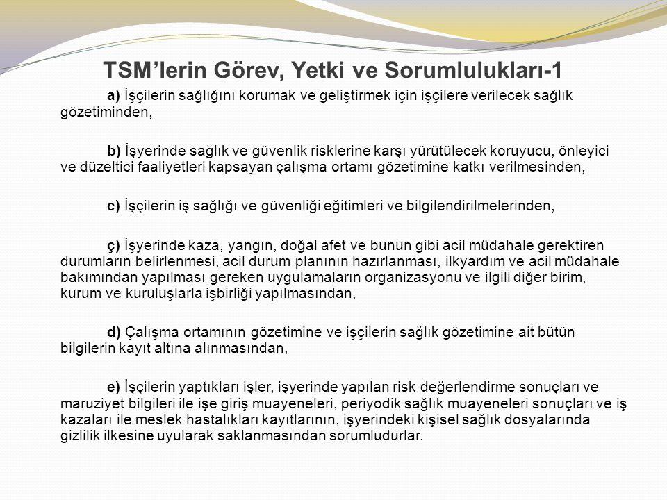 TSM'lerin Görev, Yetki ve Sorumlulukları-1