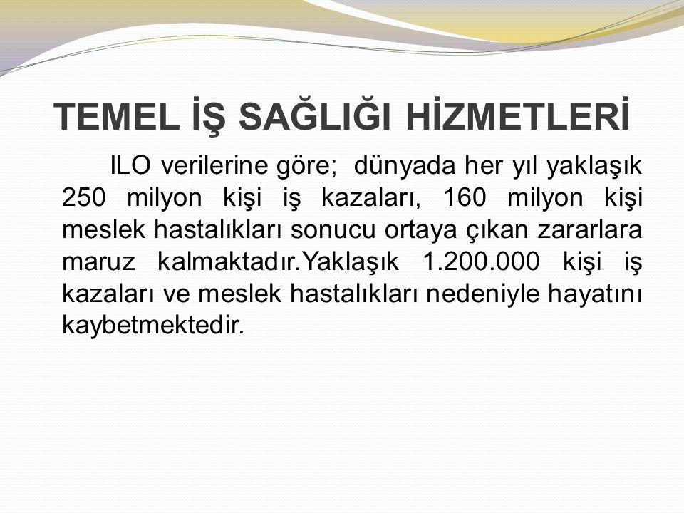 TEMEL İŞ SAĞLIĞI HİZMETLERİ