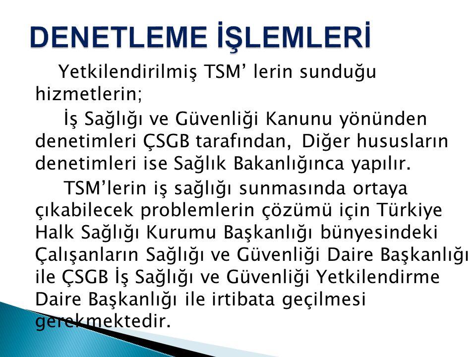 DENETLEME İŞLEMLERİ