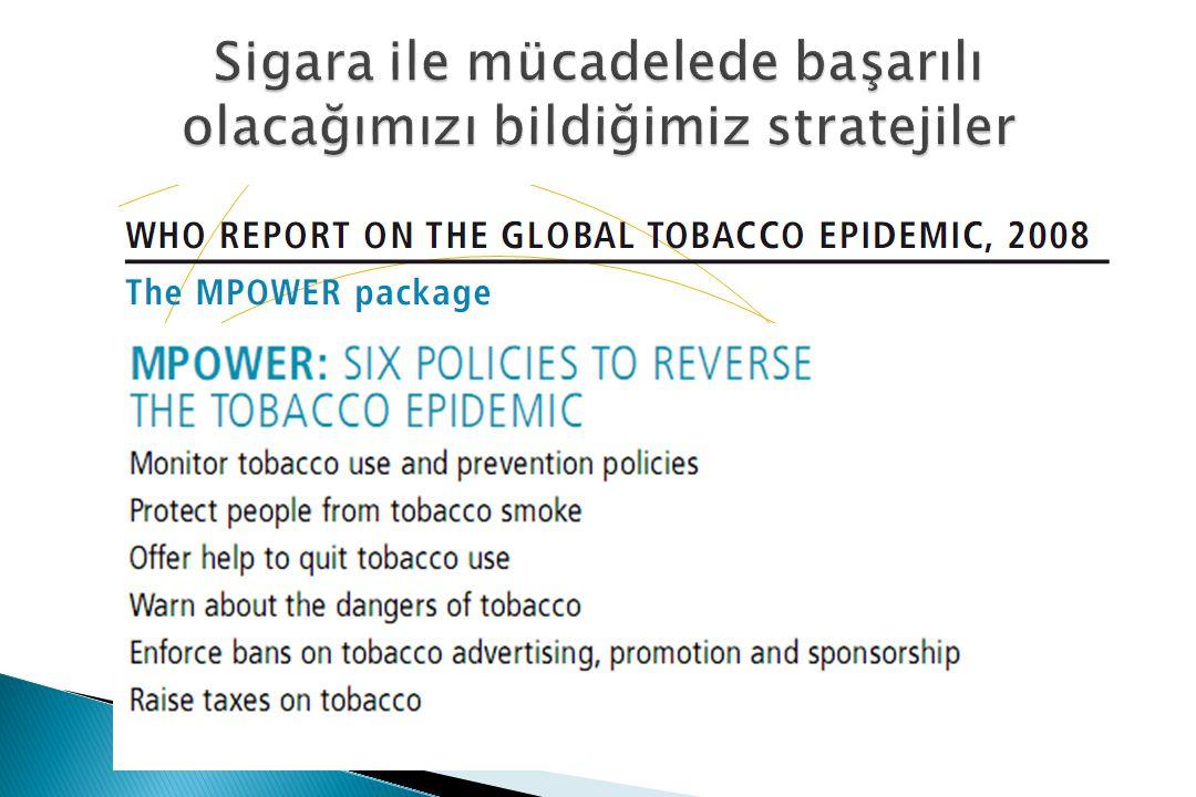Sigara ile mücadelede başarılı olacağımızı bildiğimiz stratejiler