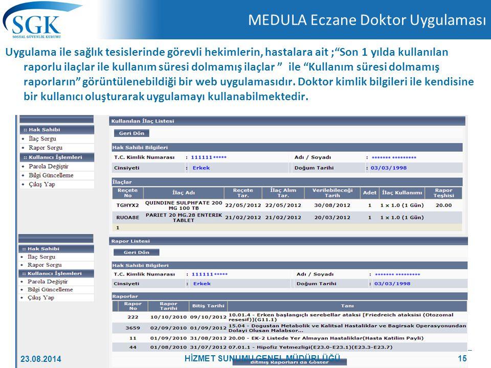 MEDULA Eczane Doktor Uygulaması
