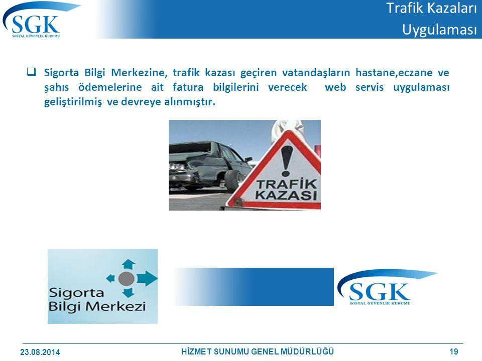 Trafik Kazaları Uygulaması