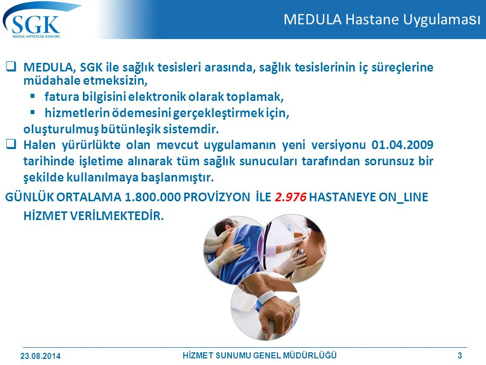 MEDULA Hastane Uygulaması