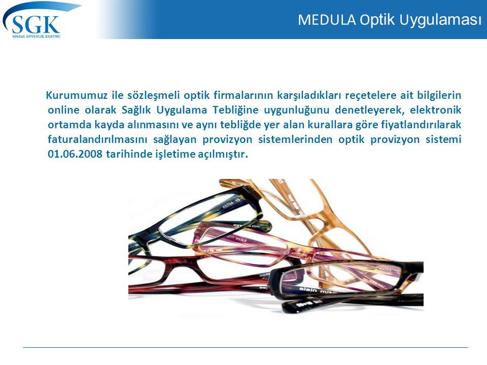 MEDULA Optik Uygulaması