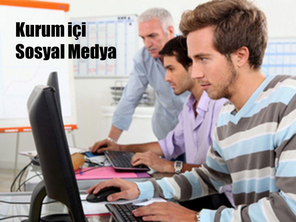 Kurum içi Sosyal Medya Yöneticiler çalışanlarıyla buradan iletişim kuruyor. Şirket içi haberler ve duyurular buradan yayımlanıyor.