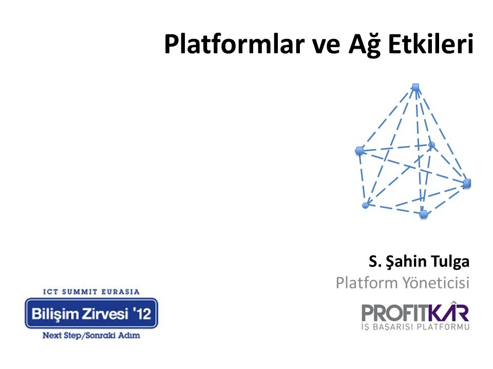 Platformlar ve Ağ Etkileri