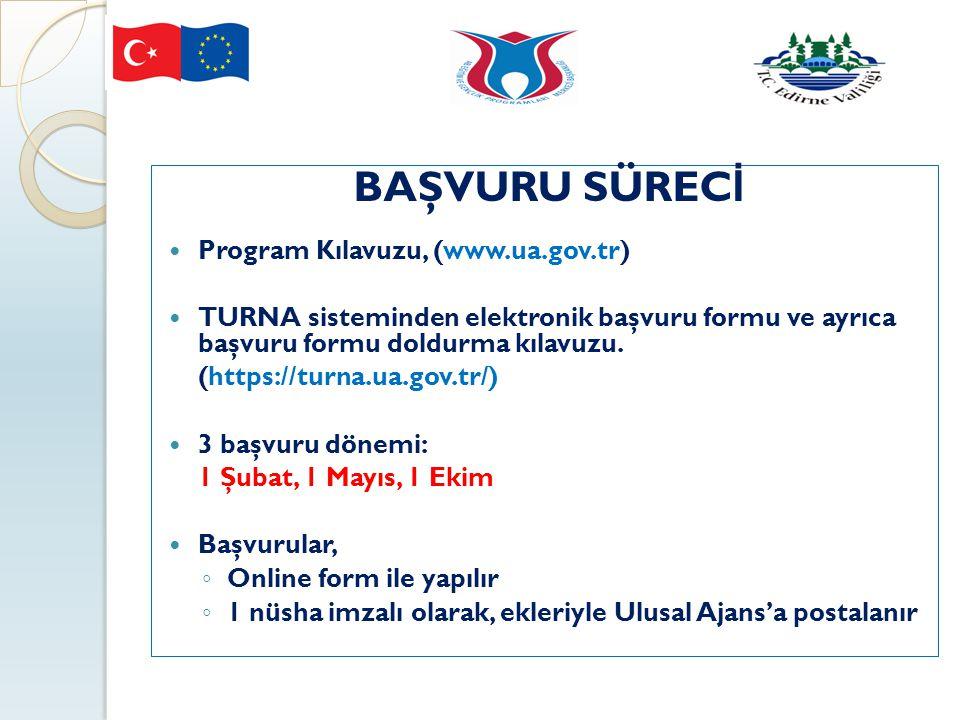 BAŞVURU SÜRECİ Program Kılavuzu, (www.ua.gov.tr)
