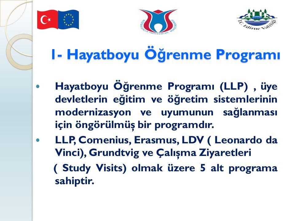 1- Hayatboyu Öğrenme Programı