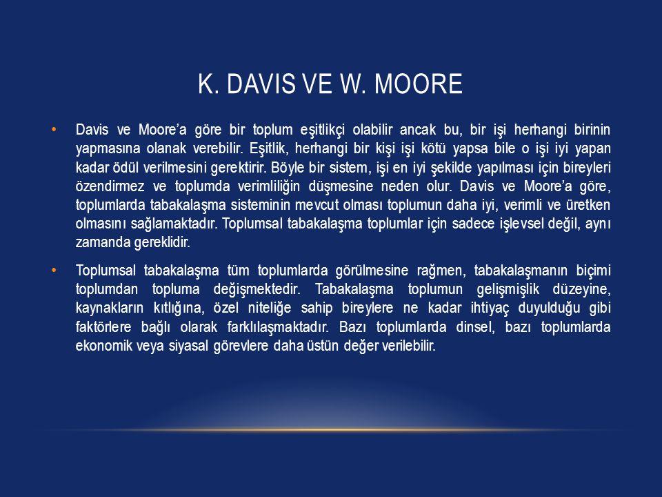 K. Davis ve W. Moore