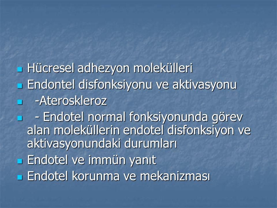 Hücresel adhezyon molekülleri