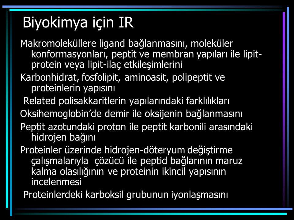 Biyokimya için IR