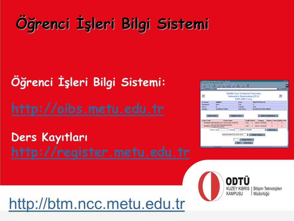 Öğrenci İşleri Bilgi Sistemi