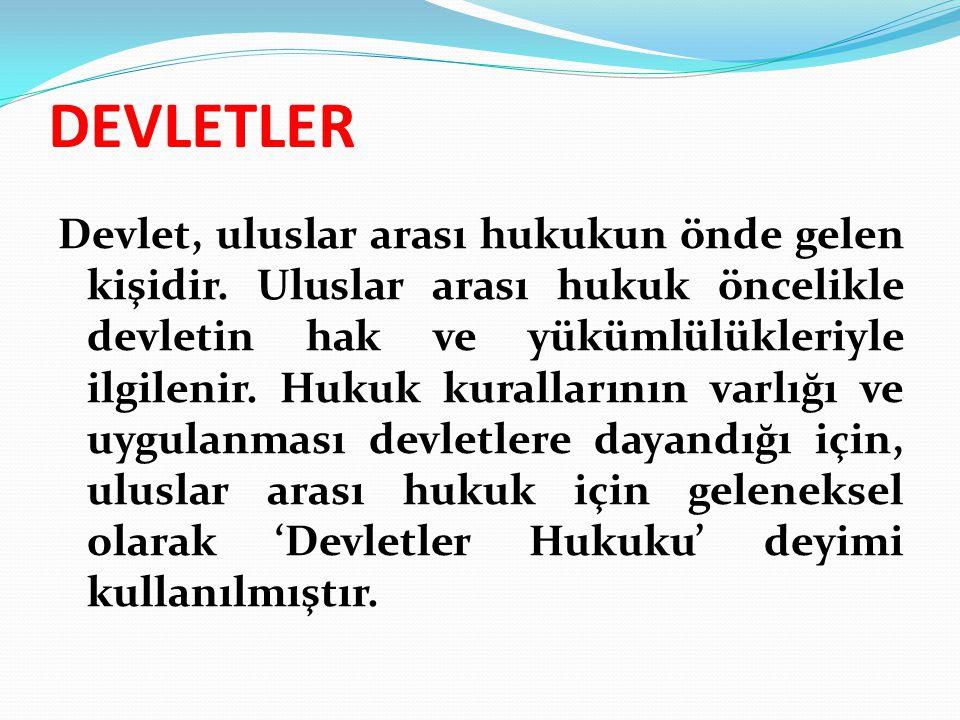 DEVLETLER
