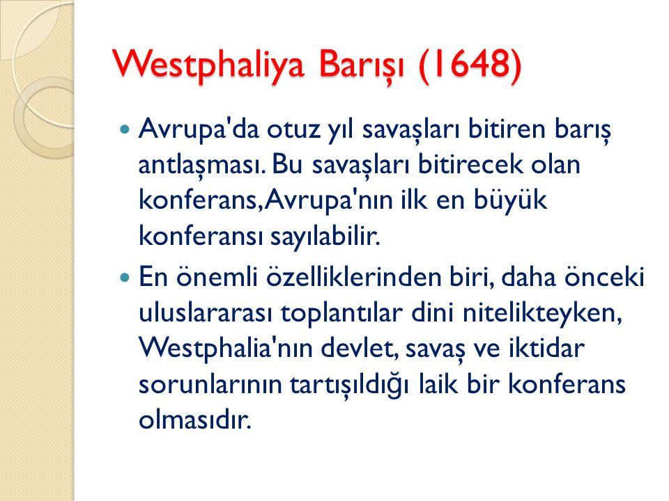 Westphaliya Barışı (1648)