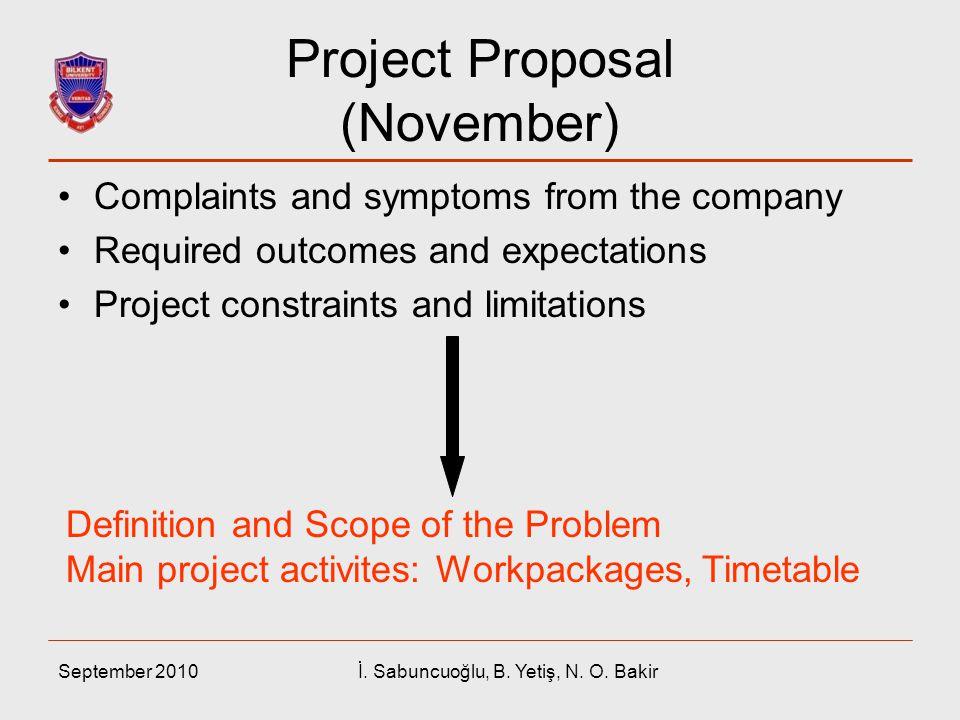 Project Proposal (November)