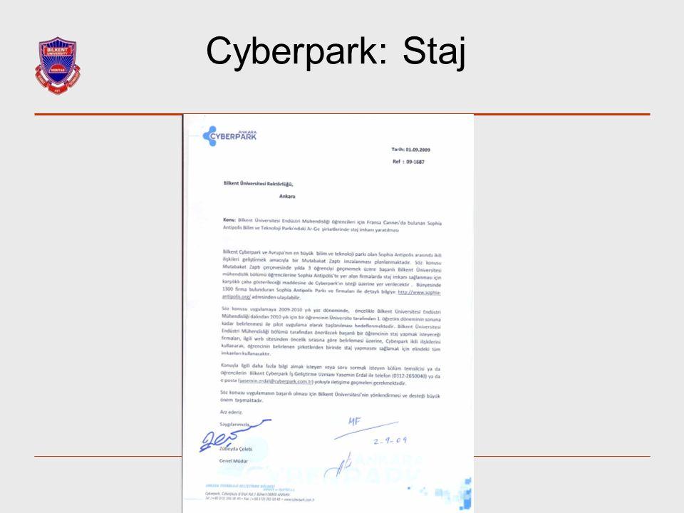 Cyberpark: Staj 31