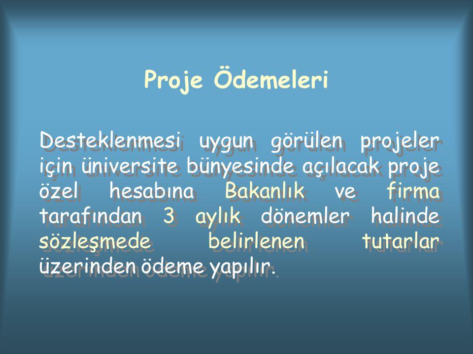 Proje Ödemeleri
