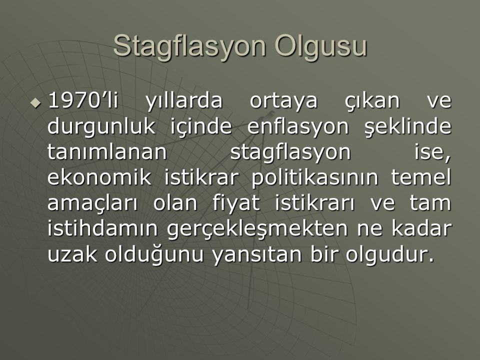 Stagflasyon Olgusu