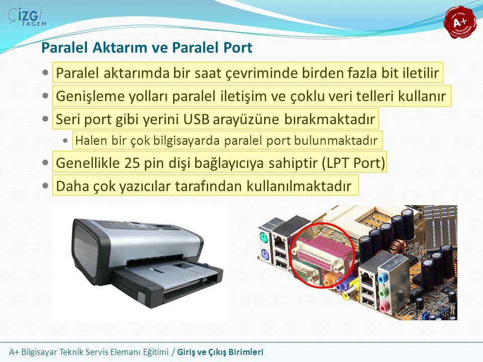 Paralel Aktarım ve Paralel Port