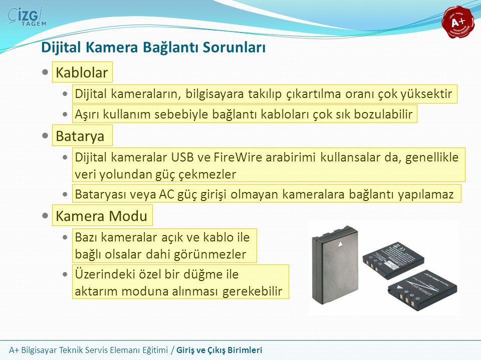 Dijital Kamera Bağlantı Sorunları