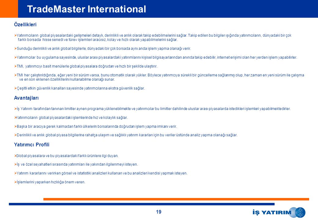 TradeMaster International