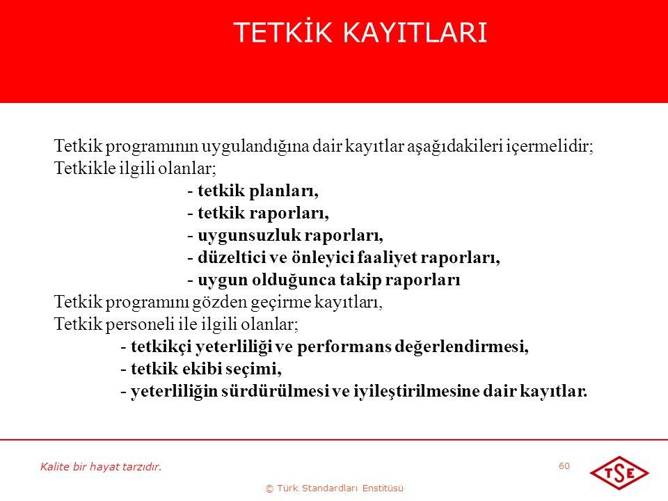 © Türk Standardları Enstitüsü