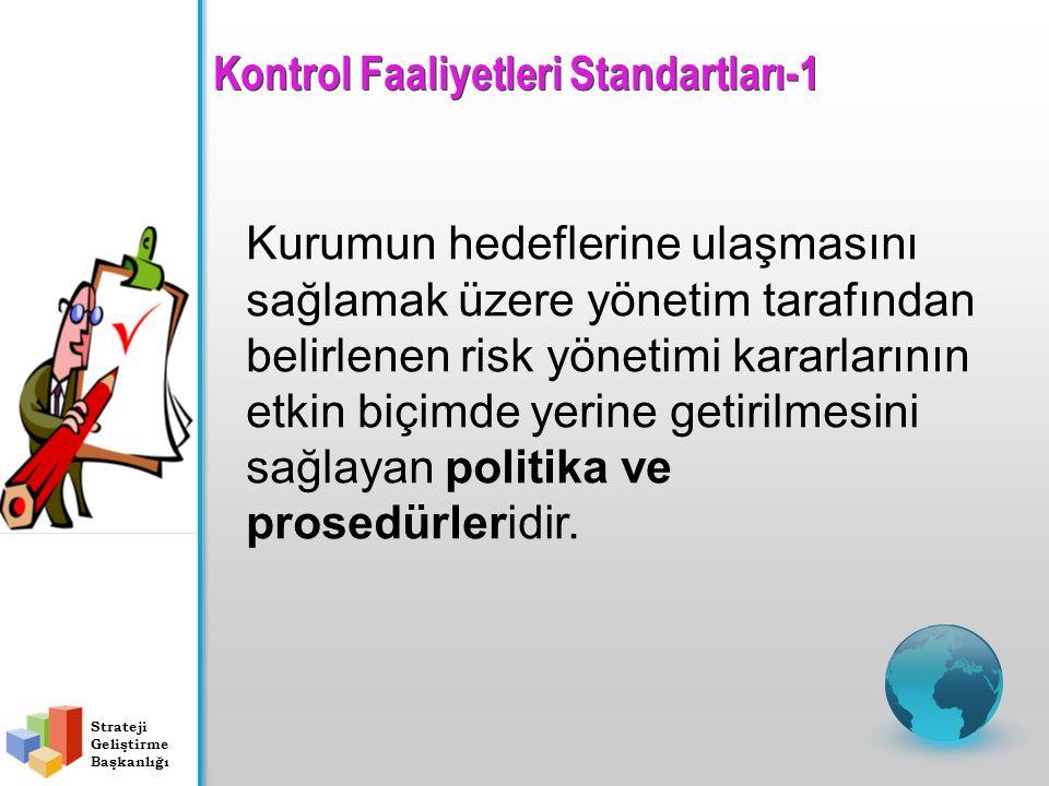Kontrol Faaliyetleri Standartları-1