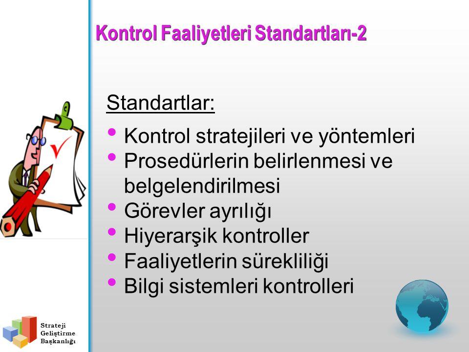Kontrol Faaliyetleri Standartları-2