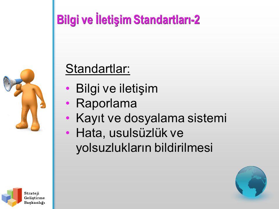 Bilgi ve İletişim Standartları-2