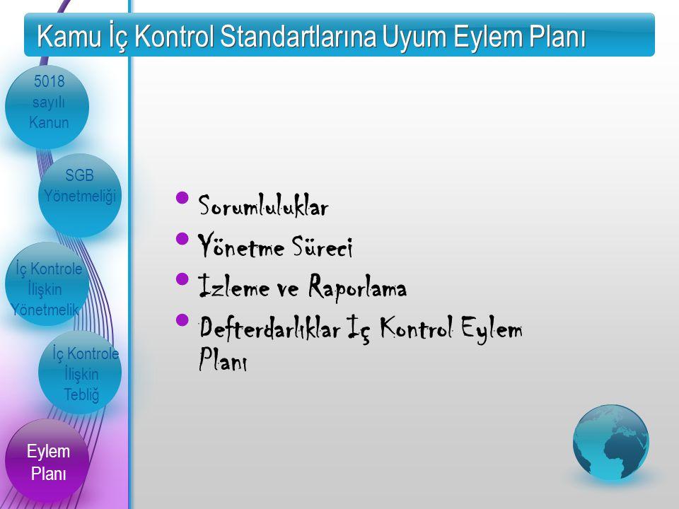 Kamu İç Kontrol Standartlarına Uyum Eylem Planı