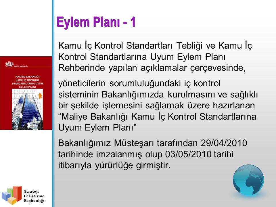 Eylem Planı - 1