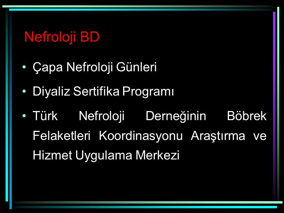 Nefroloji BD Çapa Nefroloji Günleri Diyaliz Sertifika Programı