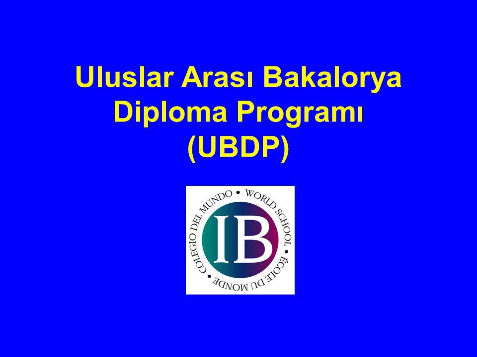 Uluslar Arası Bakalorya Diploma Programı (UBDP)