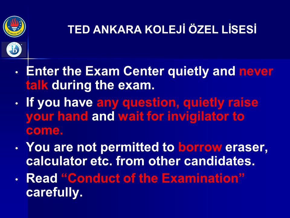 TED ANKARA KOLEJİ ÖZEL LİSESİ