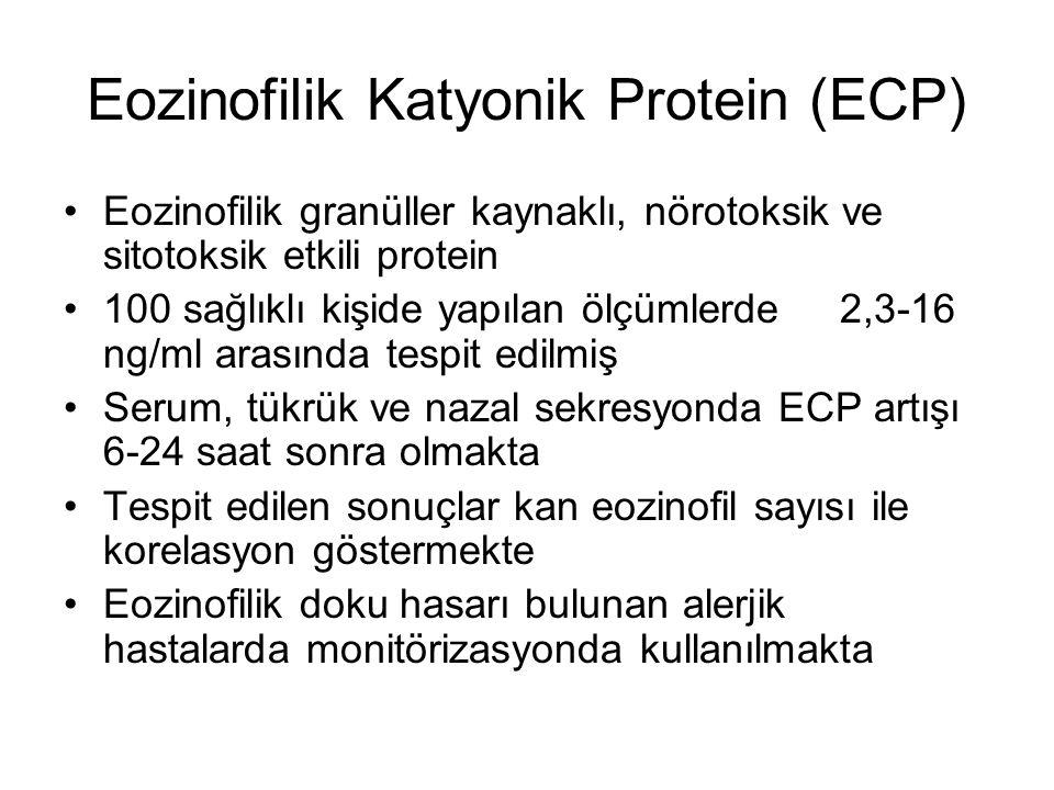 Eozinofilik Katyonik Protein (ECP)