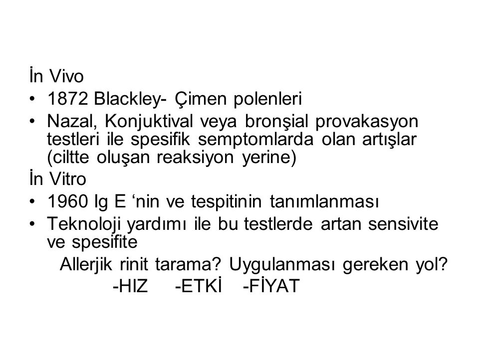 İn Vivo 1872 Blackley- Çimen polenleri.