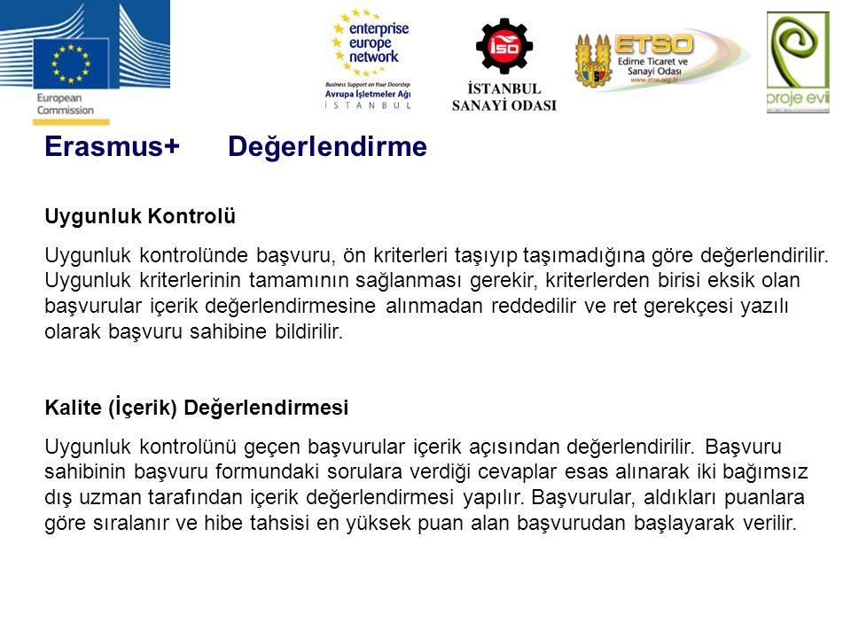 Erasmus+ Değerlendirme