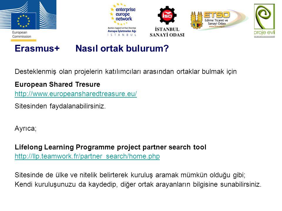Erasmus+ Nasıl ortak bulurum