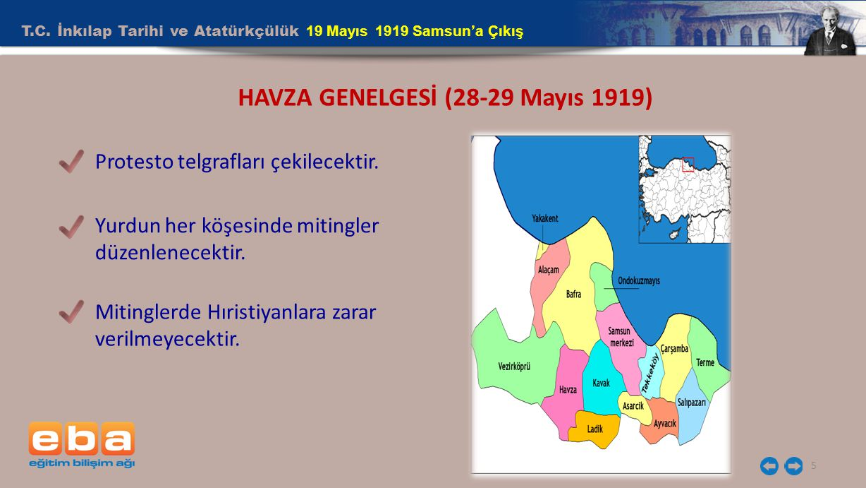 HAVZA GENELGESİ (28-29 Mayıs 1919)
