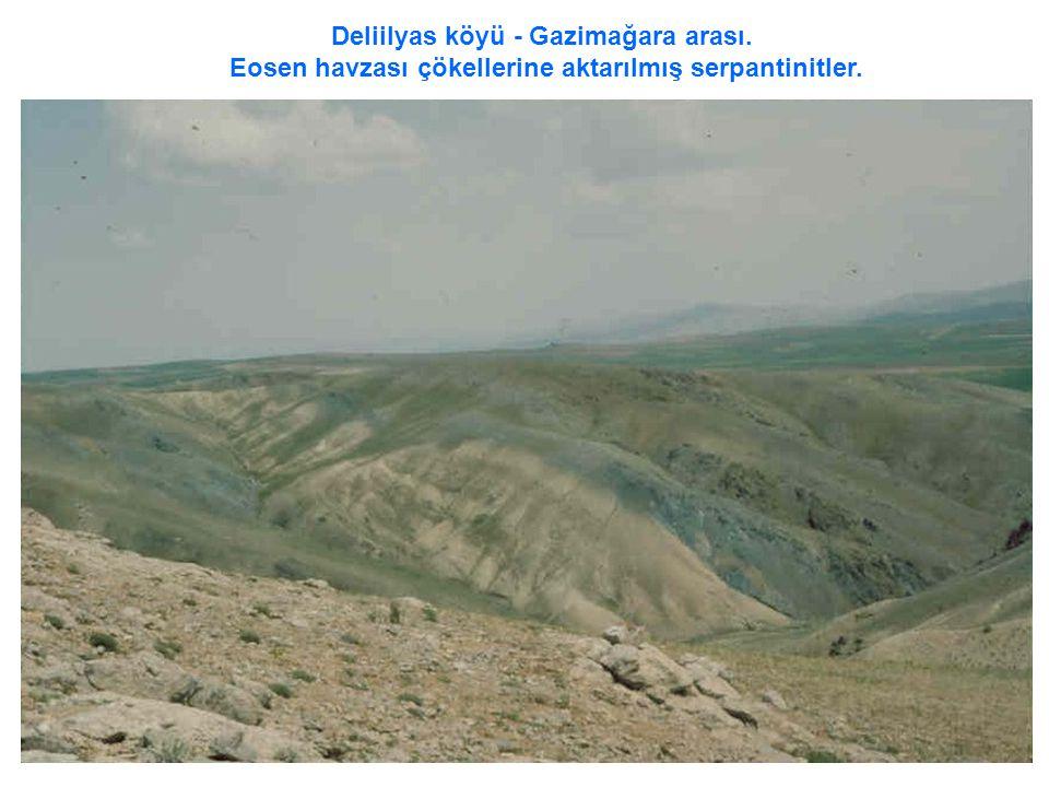 Deliilyas köyü - Gazimağara arası