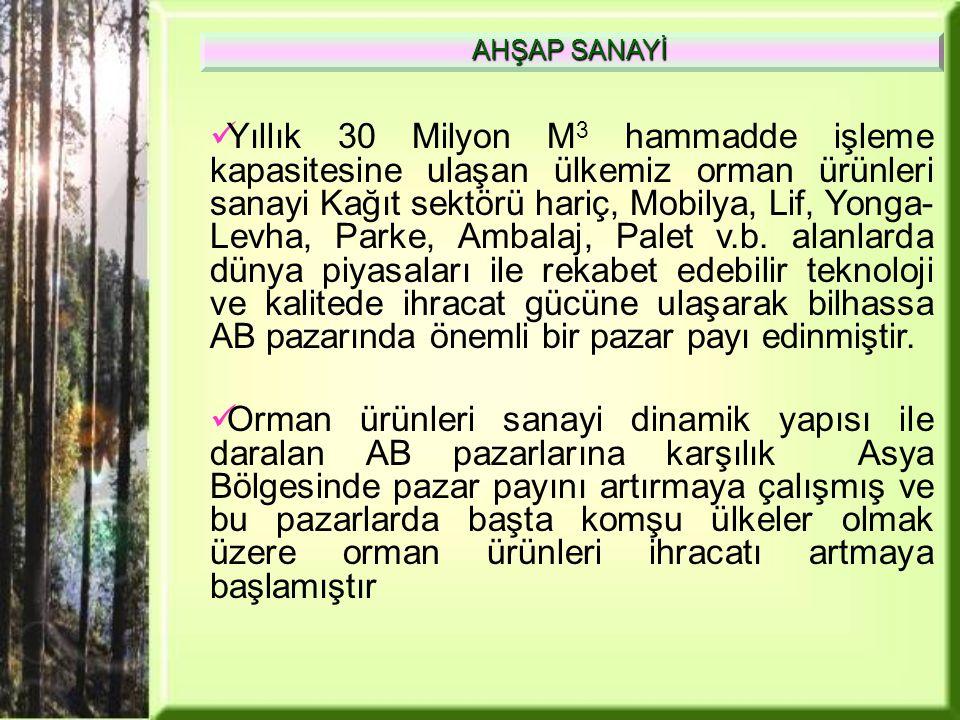 AHŞAP SANAYİ