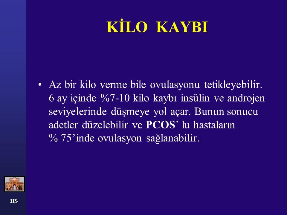 KİLO KAYBI