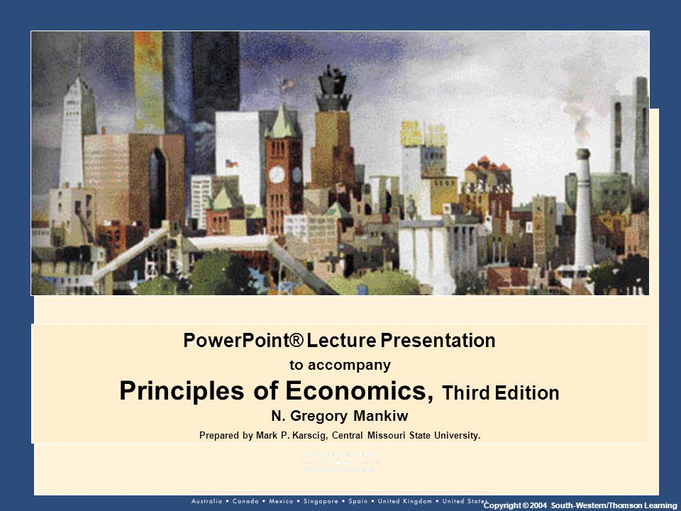 Principles of Economics, Third Edition