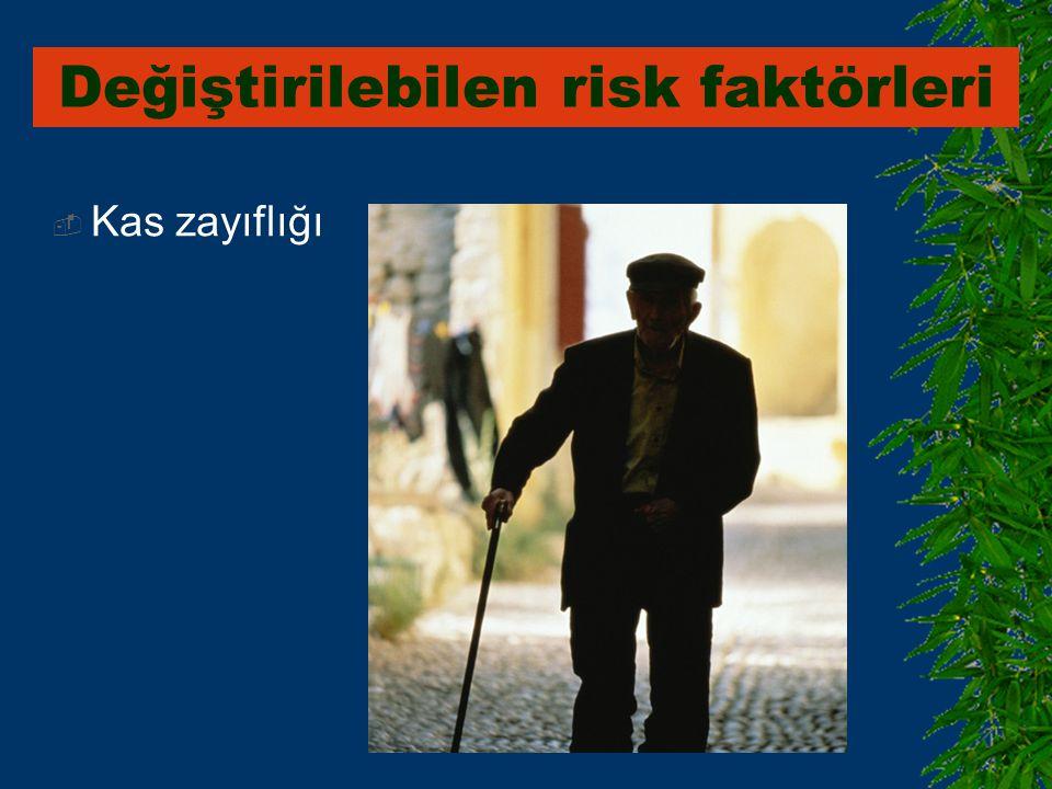 Değiştirilebilen risk faktörleri