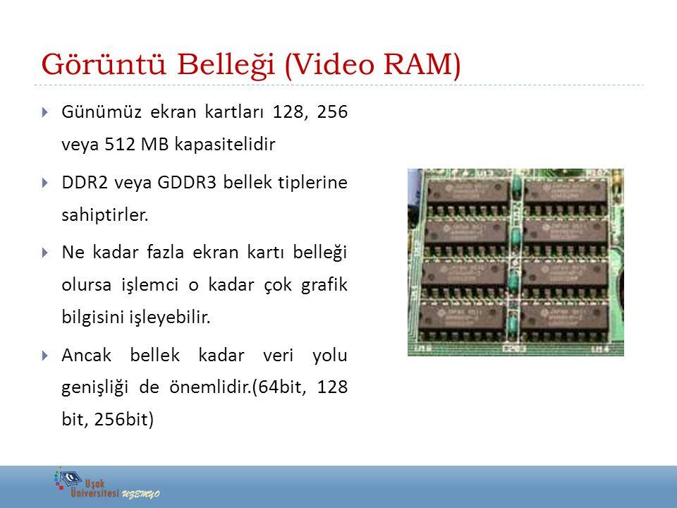 Görüntü Belleği (Video RAM)