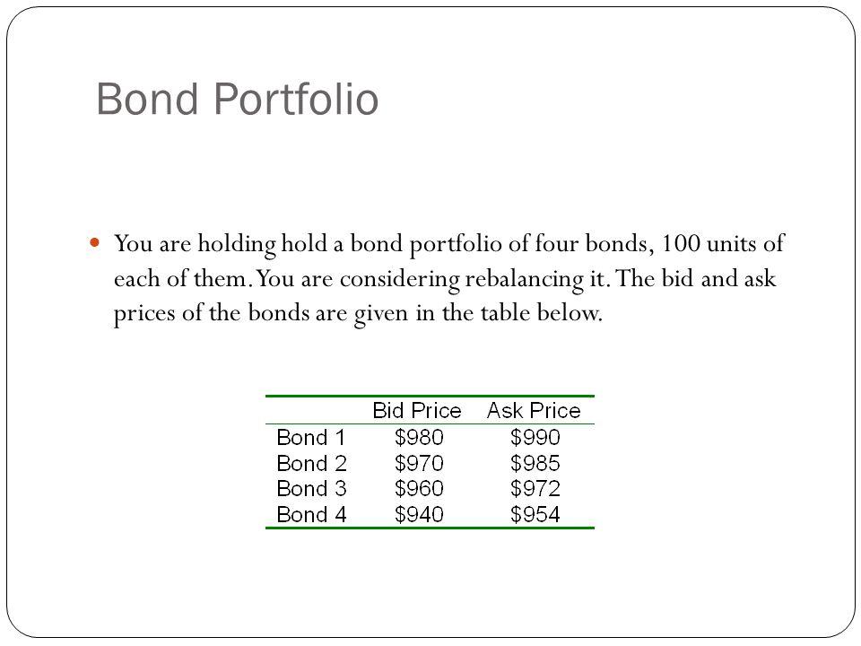 Bond Portfolio